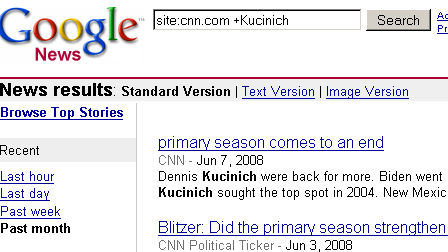 Does CNN even know that Dennis Kucinich filed articles of impeachment against George W.?