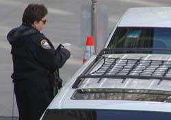 Ok, so, thats $2,000 for illegally parking. Oh, and another $5 for the 3 kilos of cocaine in your trunk. Have a nice day.