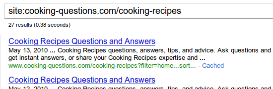 Cooking Recipes category