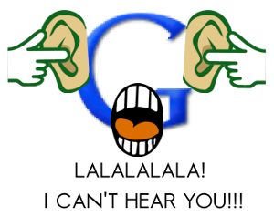 Google Cant Hear You!