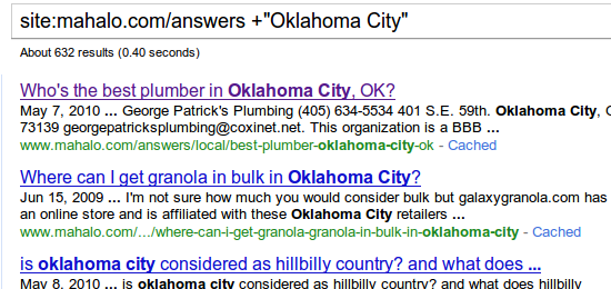 Nothing new on OK City