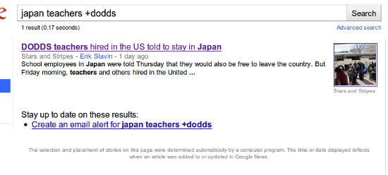 No news on DODDS teachers hired in the U.S. told to stay in Japan
